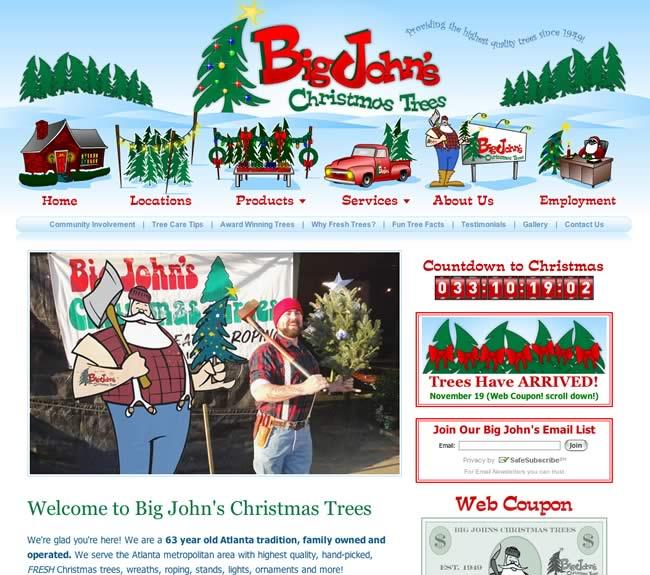 Big John's Christmas Trees