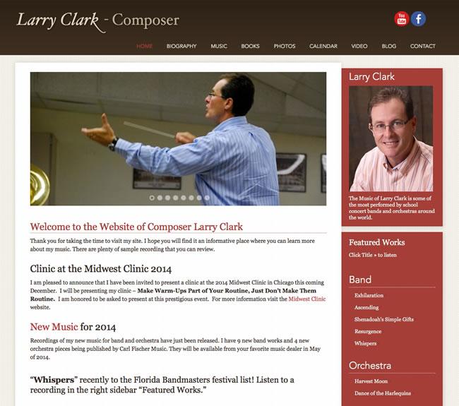 Larry Clark Music