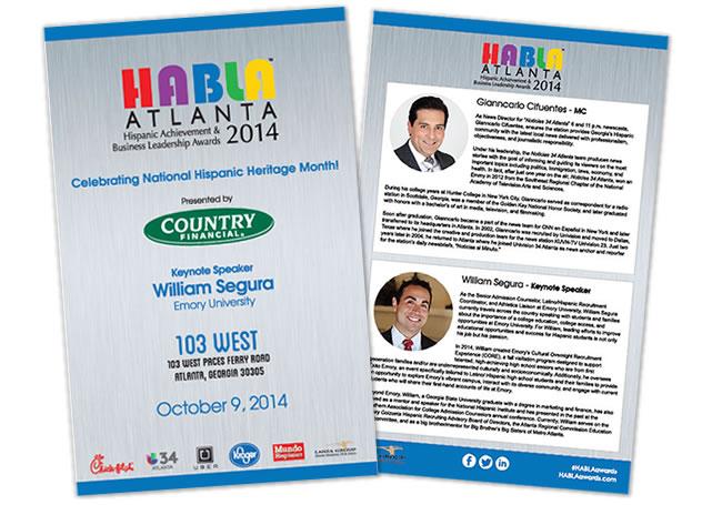 HABLA Awards Program