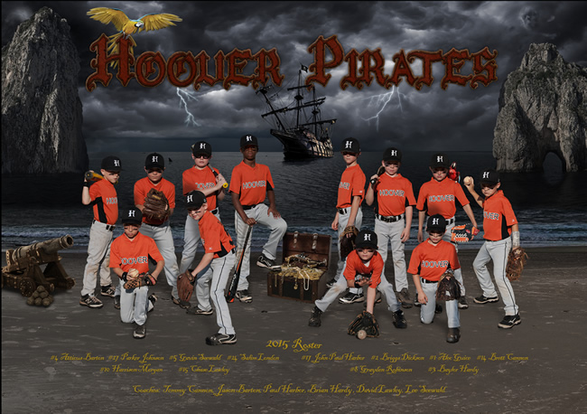 Hoover Pirates – 2015