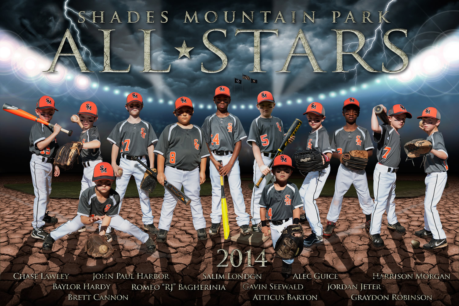 Shades Mountain Park All Stars