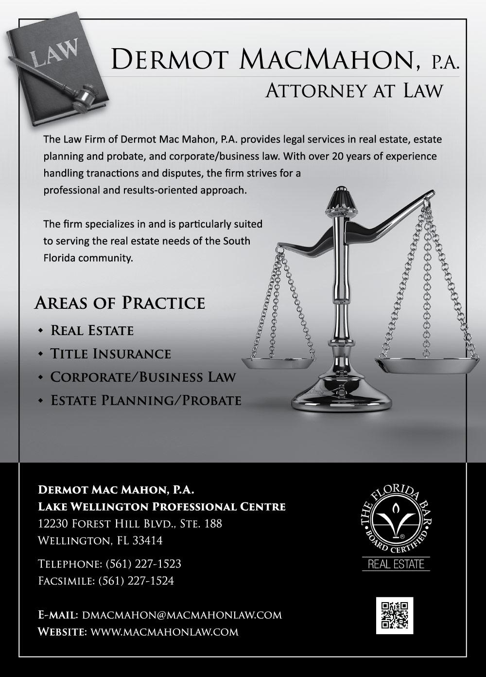Mac Mahon Law Ad