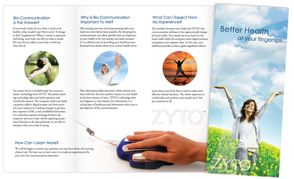 ZYTO Trifold Brochure