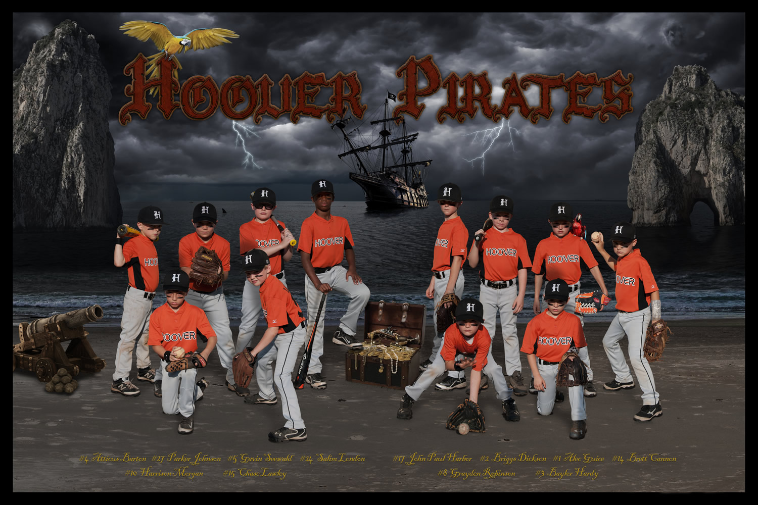 Hoover Pirates 2015 - Click image to enlarge