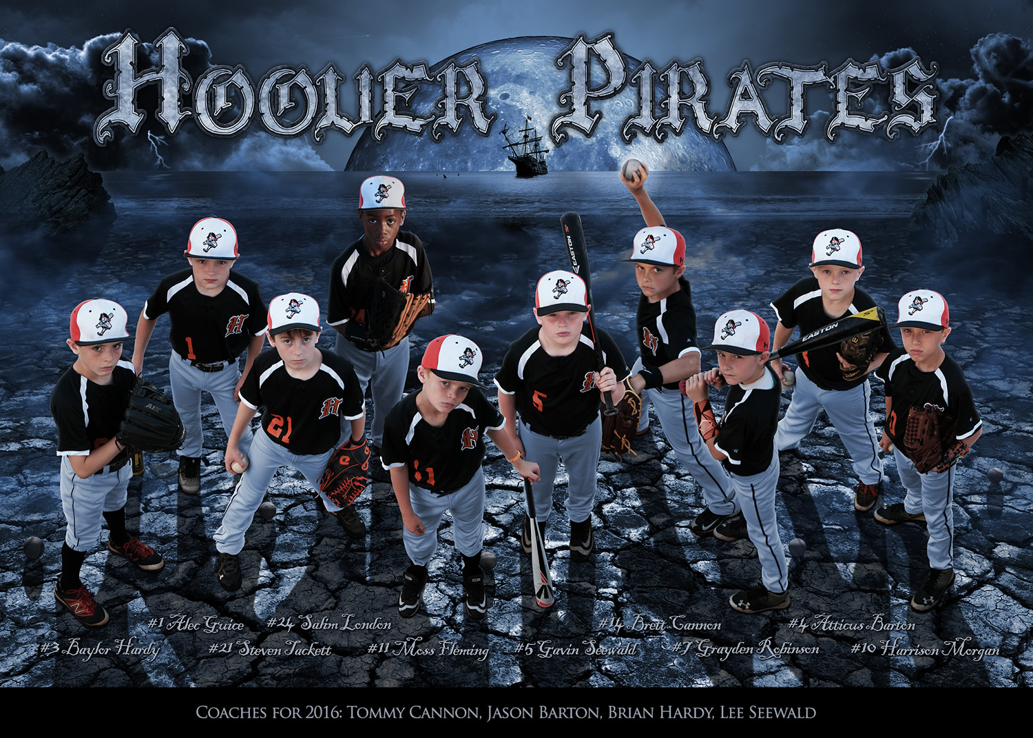 Hoover Pirates 2016